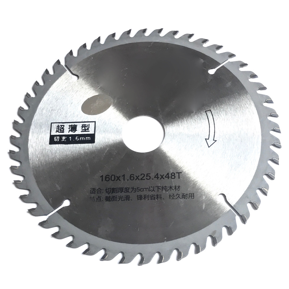 Free Shipping Professional Quality 160*25.4*1.6*48z TCT Saw Blade Original Carbides For Home Decoration General Wood/MDFcutting