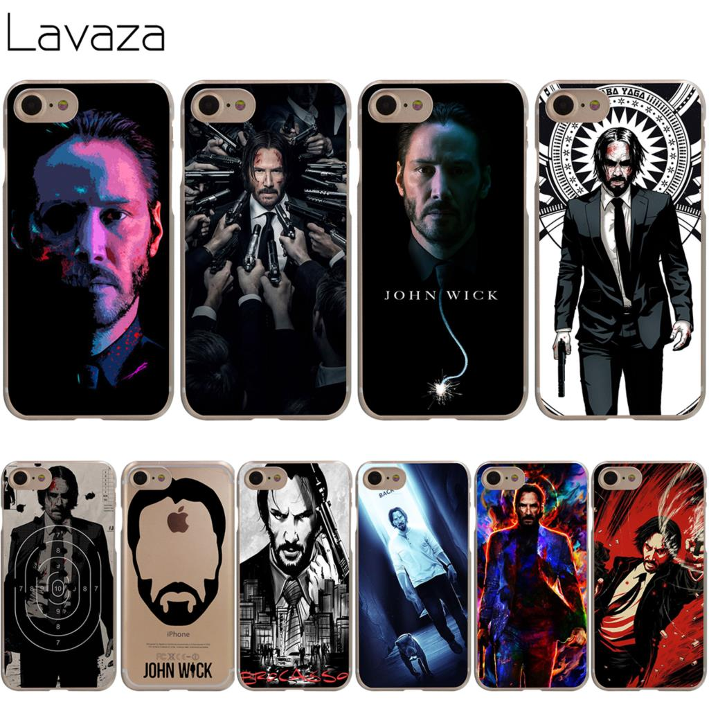 Lavaza John Wick Cover Case for iPhone X 10 8 7 Plus 6 6S Plus 5 5S SE 5C 4 4S Cases ...