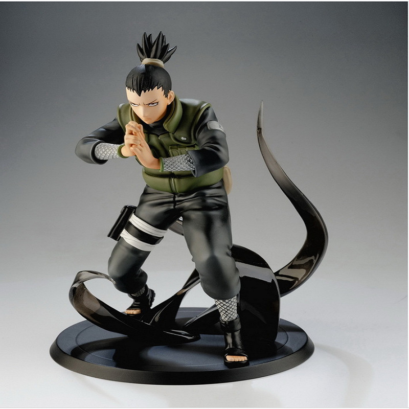 Action-Figure Naruto Sasuke-Collection Nara Shikamaru Model-Desk-Decoration PVC 16cm