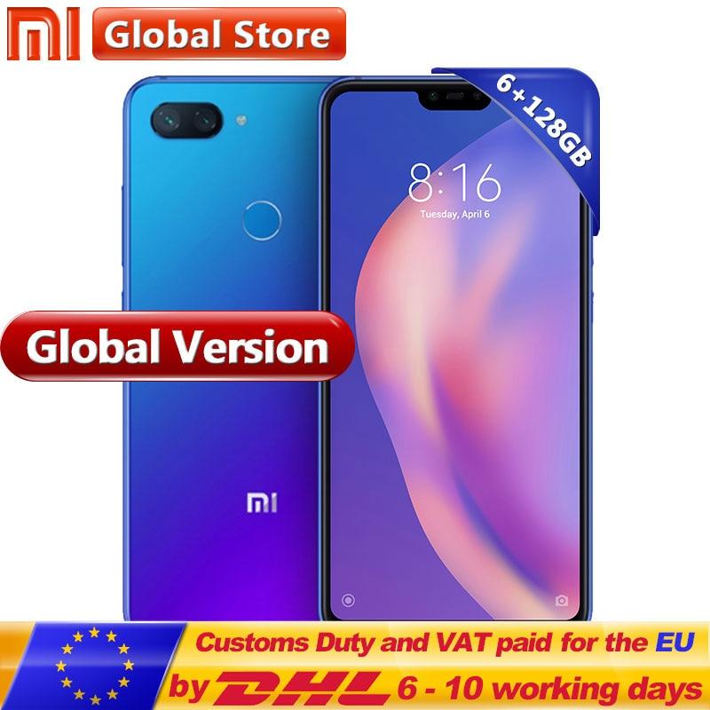 Global Version Xiaomi Mi 8 Lite 6GB 128GB RAM ROM Smartphone 6.26