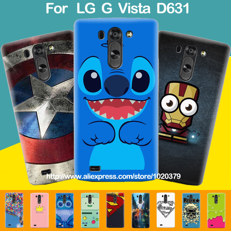 new style ba050 e62d2 For LG G Vista Phone Cases, Superman Designs Cartoon Painting Hard ...