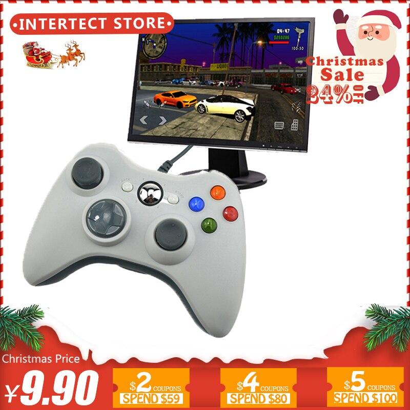 USB Com Fio Controlador de Joystick Para PC Controle De Computador Win7 Win8 Win10 Não para xbox 360