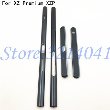 Высокое качество Новый Сменный корпус металлическая средняя рамка боковые части для Sony Xperia XZ Premium XZP G8141 G8142 запчасти для ремонта