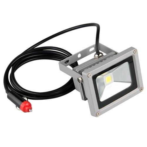 HEADLIGHT HEADLAMP CAR SPOTLIGHT 12V LED 10W 7000K WHITE dy6020 20w car spotlight headlight