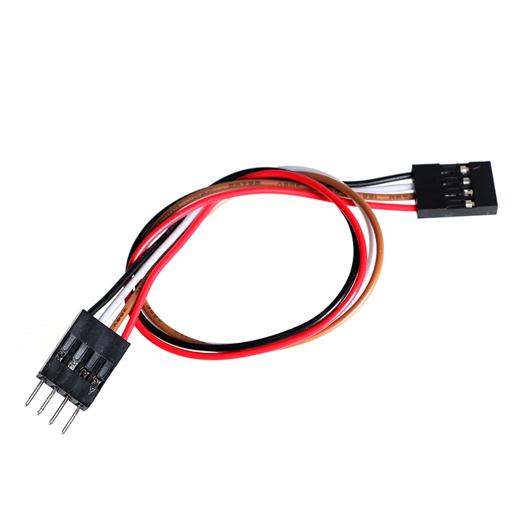 10 шт DuPont 4-контактный кабель для удлинителя для Arduino 20 см