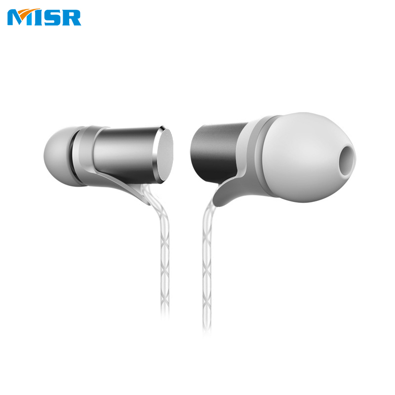 MISR MT8  Wired In-Ear Earphone Headset Stereo Earbud 3.5mm for Phone with Mic Microphone Noise Cancelling cbaooo stereo earphone wired in ear headset ear hook earbuds headphone with microphone noise canceling earphones for phone pc