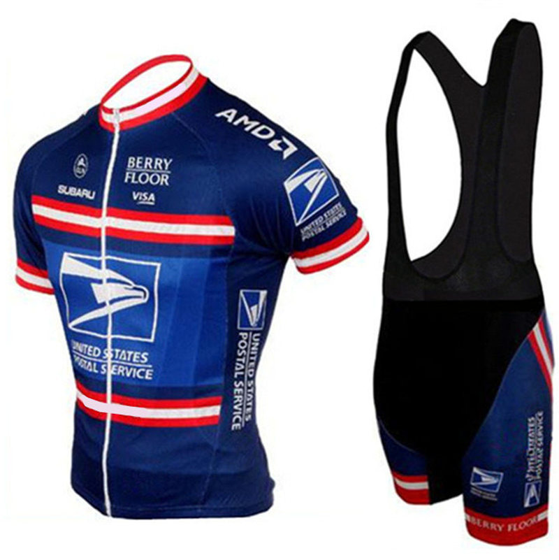 United States Brand Pro Cycling Clothing Sets Road Bicycle Men s Cycling  Jersey Suit Maillot Ciclismo Classic design  DTZ-042 5a7689c48