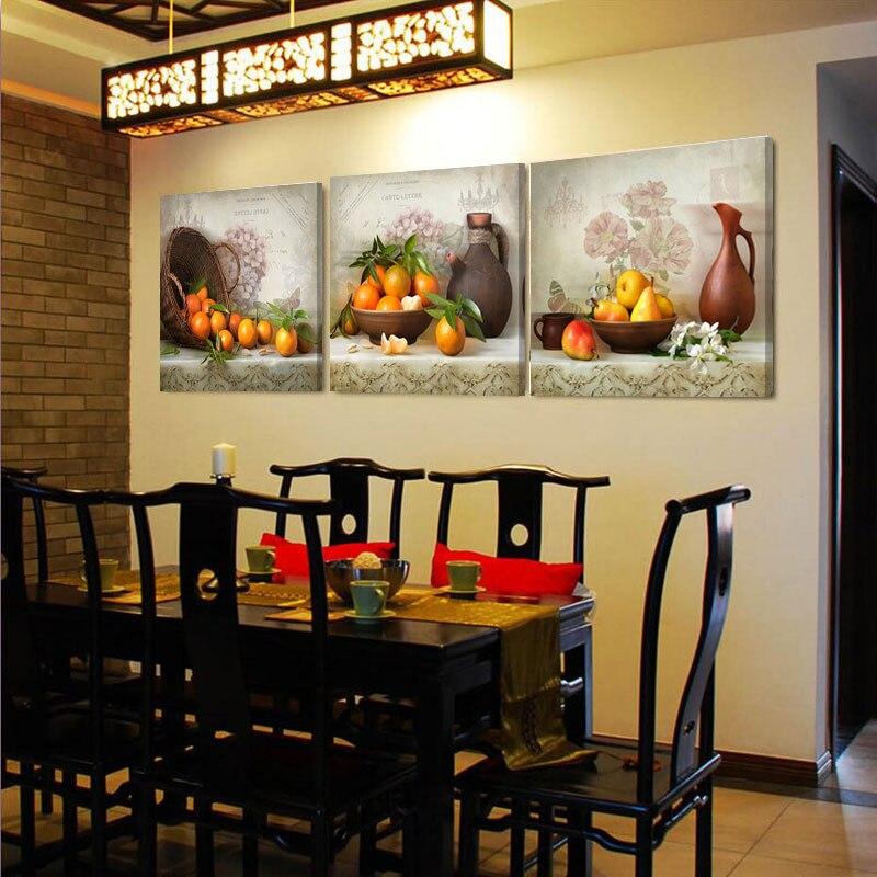 Vintage Home Decor Painting Canvas Painting Fruit Decoration ...