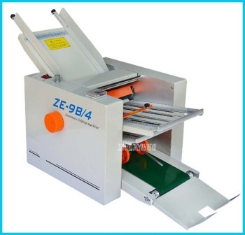 ZE-9B / 4 Folding Paper Automatic Paper Max 210x600mm, High Speed, 4 Folding Trays, Large Workload  110V/220V Automatic folding