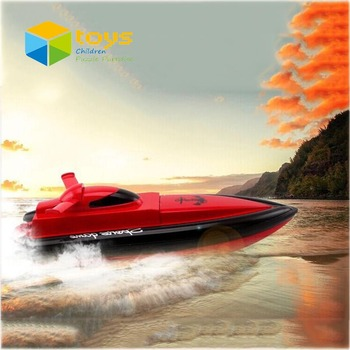 Mini Electric RC High Speed Racing Boat Speedboat Remote Control Ship Model Barcos a Radio Control boat for Children Adult Young