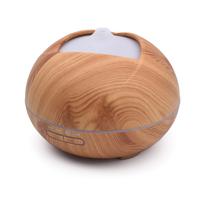 2017 New Arrive 400ml Humidifier Essential Oil Diffuser Difusor Aroma Diffuser Diffuseur Huile Essential Aroma Led