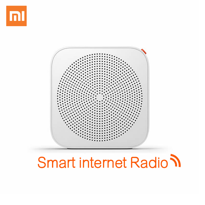 original xiaomi internet radio enhanced version wifi bluetooth wireless speakers music alarm. Black Bedroom Furniture Sets. Home Design Ideas