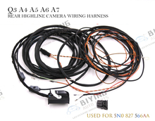 Rear HighLine Camera Wiring Harness For Audi Q3 8U0 A6 4G0 A5 S5 8F 8T F3 A8 4H0 A4 8K0 Q5 8R0 A7 4G0 keoghs pair oem suspension ball joint front left right lower for audi a4 s4 a5 q5 rs5 8k0 407 689 c 8k0 407 689 g