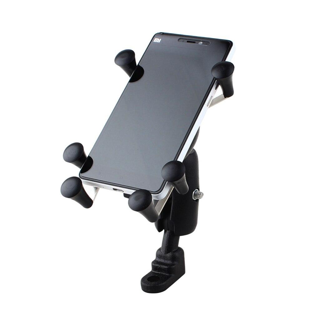 Para Samsung LG Sony Iphone Teléfono Manillar de La Motocicleta Universal Ajusta