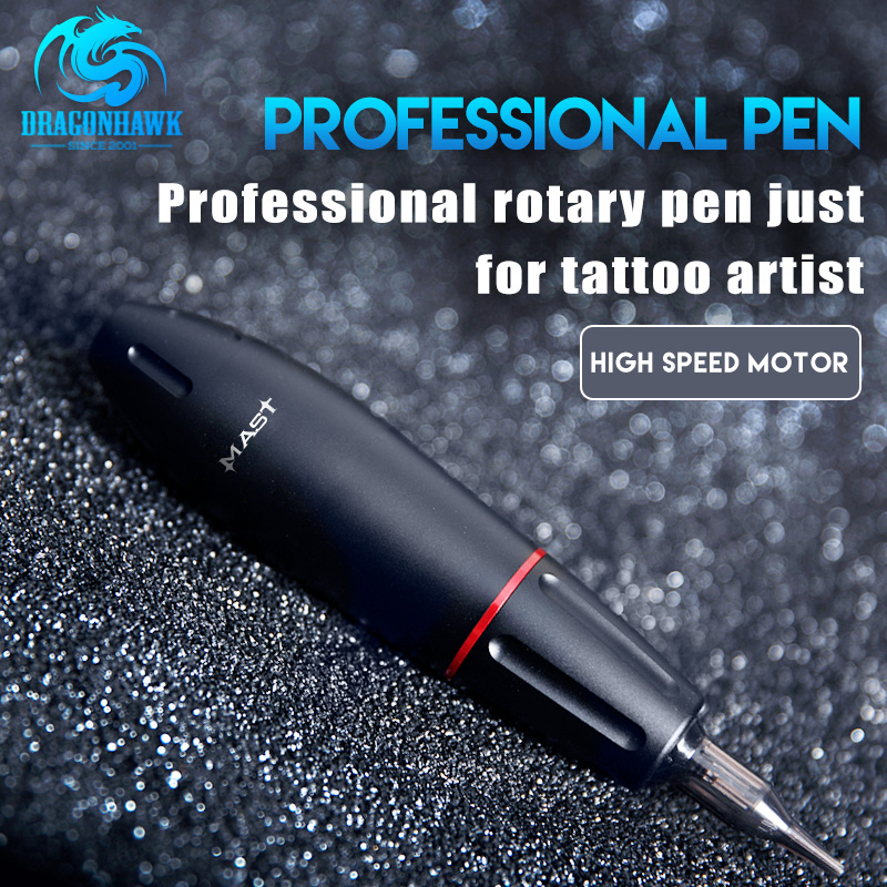 Newest 4 Colors Tattoo Gun Rotary Tattoo Pen Professional Permanent Makeup Machine Tattoo Studio Supplies