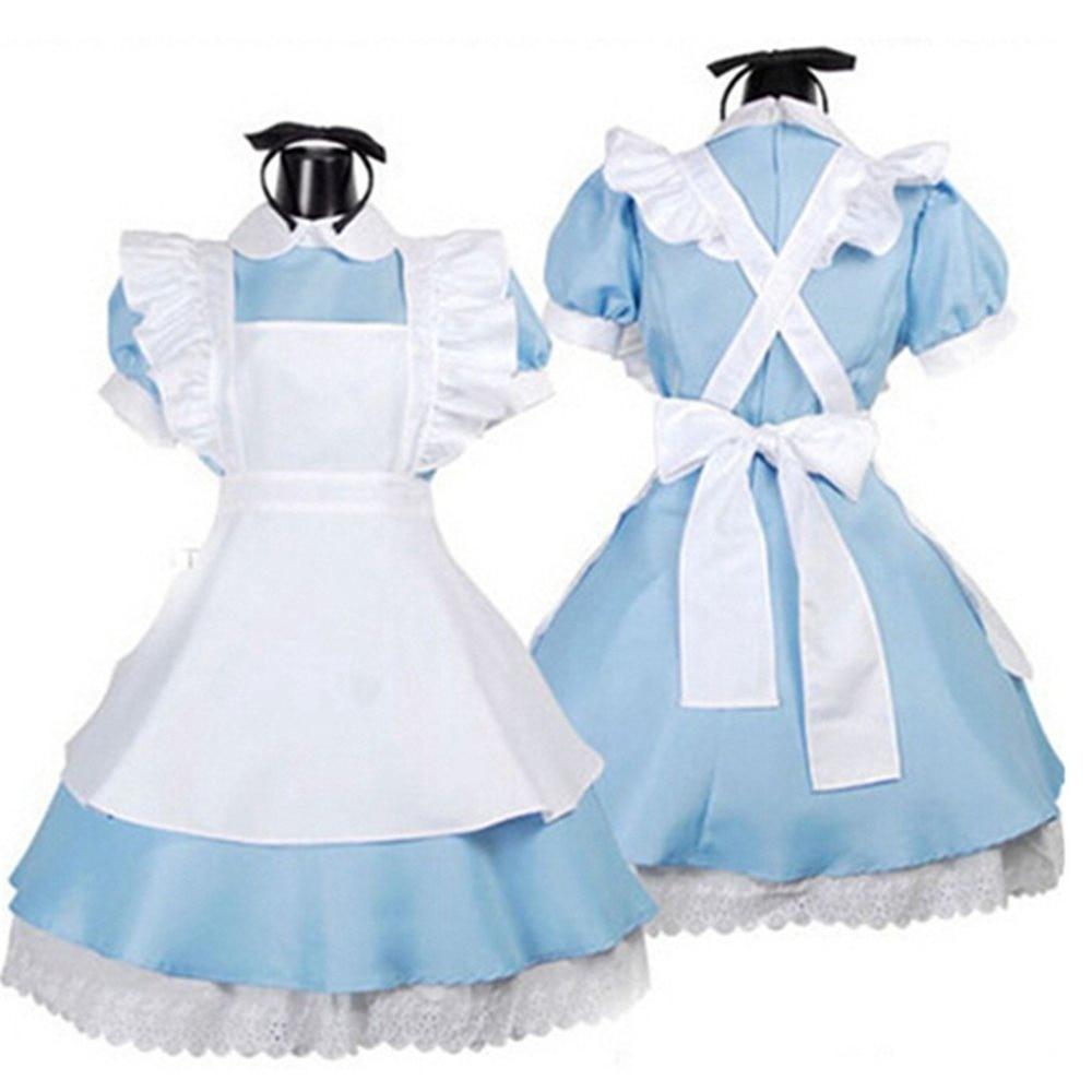 Shanghai Story Lolita Dress Maid Cosplay costumes Halloween Costume For girl (6--12)