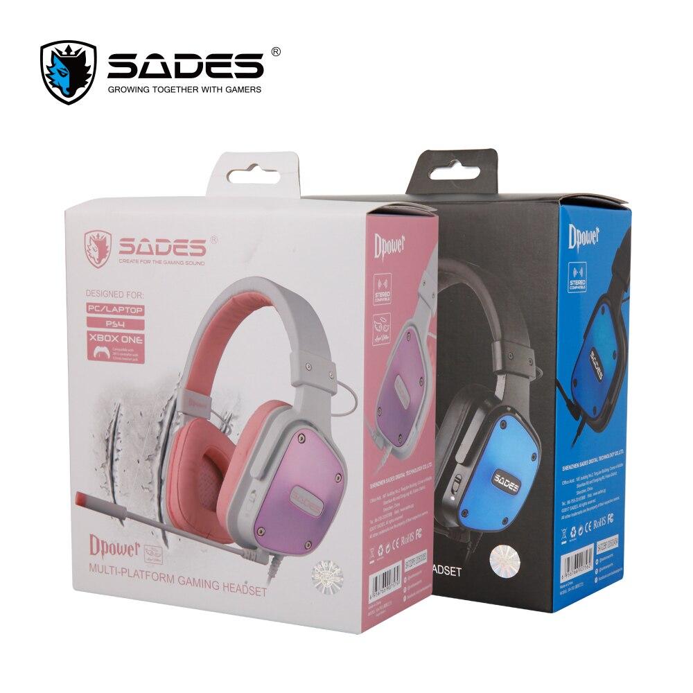 SADES Gaming auriculares estéreo sonido heaset 3.5mm para - Audio y video portátil - foto 6