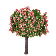1PC Ball-shaped Flower Plastic Miniature Model Trees Trains Railroad Wargame Layout Scenery Landscape Diorama Accessories