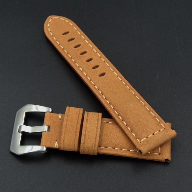 Фото быстрая доставка высокое качество кожаный ремешок для часов цена