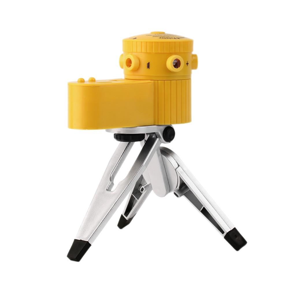 Multifunction 630-680nm Laser Leveler Cross  Horizontal Vertical Level Horizontal Vertical Laser Line Instrument Measure W/ Tripod