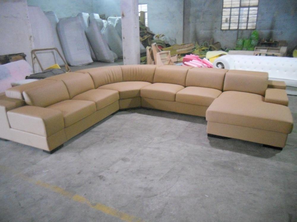 Eleganten in racionalen resničen usnjen kavč Dnevna soba kavč v - Pohištvo - Fotografija 4