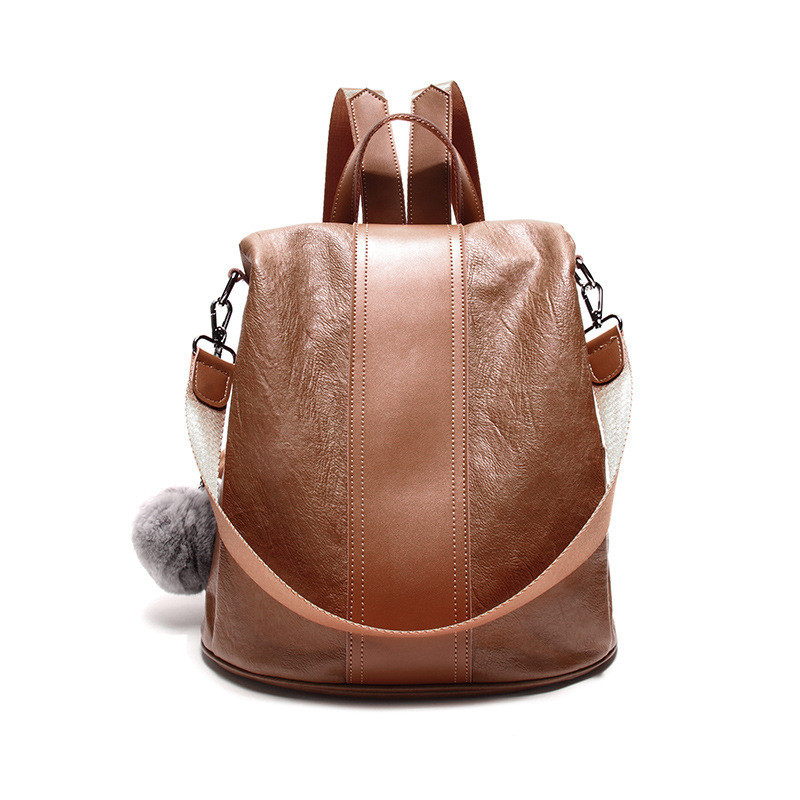 New Travel Backpack Korean Women Female Rucksack Leisure Student School bag Women Leather Bag Ladies Travel Bags Preppy Style