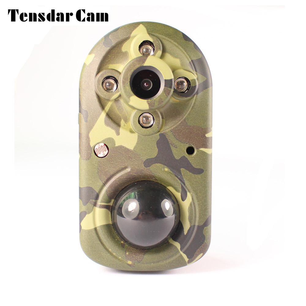 Tensdarcam Mini Hunting Camera Trap Night Vision 940nm infrared motion detection 1080P Security  Surveillance Trail Cameras hunting camera 940nm 12mp photo traps infrared night vision motion detection outdoor wildlife trail cameras trap no lcd screen