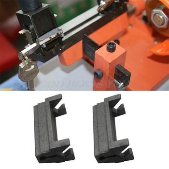2 sztuk klucz maszyna oprawa części na klucz pusty klucz do cięcia powielanie części zamienne maszyny zacisk Drop Shipping tanie i dobre opinie OOTDTY CN (pochodzenie) GUGUJI222