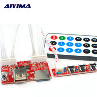 AIYIMA MP3 Player Bluetooth Wipers MP3 Decoder Board Lossless WAV FLAC Wireless Remote Control Single Repeat