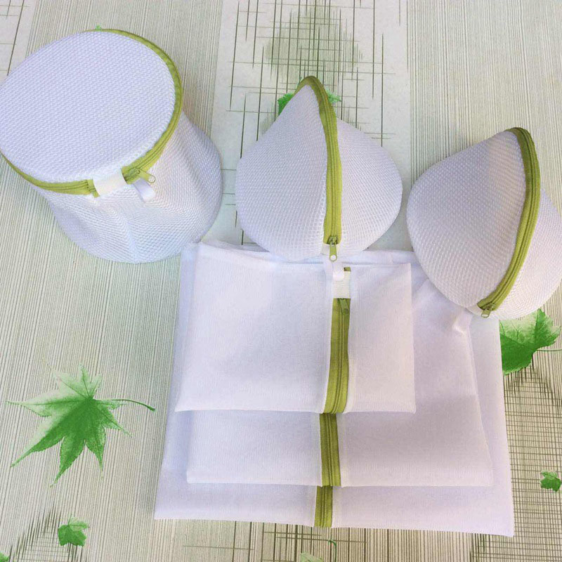 6Pcs/sets Laundry Bag Women Bra Underwear Laundry Bag Washing Net Hosiery Saver Protect Mesh Wash Bag(China)