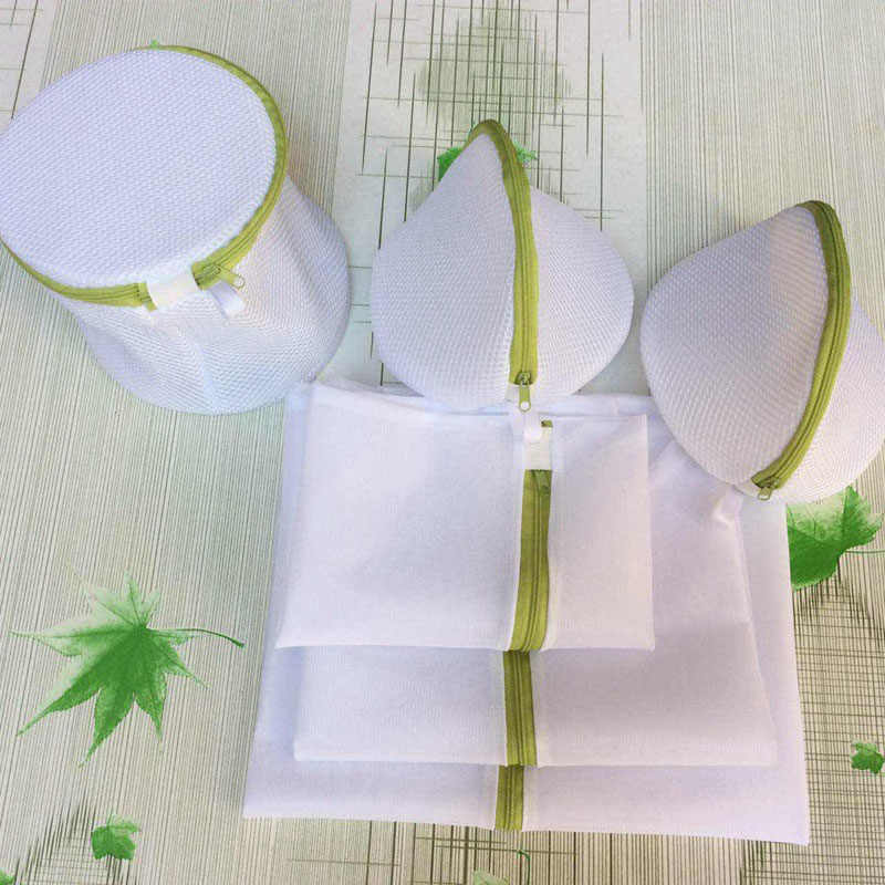6Pcs/sets Laundry Bag Women Bra Underwear Laundry Bag Washing Net Hosiery Saver Protect Mesh Wash Bag