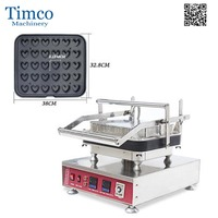 Cheese Maker Baker 30pcs Heart Shape Digital Egg Tart Baking Machine Tartlet Machine