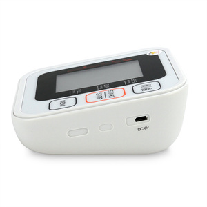 Image 4 - Cigii Portable Digital Upper Arm Blood Pressure Monitor Heartbeat test Health care monitor 2 Cuff Tonometer