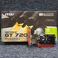 Jogo de computador desktop placa gráfica original para msi n720-2gd3/lp gt720 placa de vídeo frete grátis
