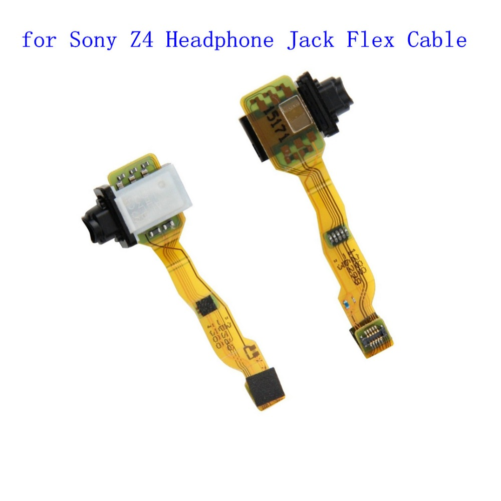 1PCS Original For Sony Xperia Z3+ Z4 E6533 E6553 Headphone Jack Flex Cable Ribbon Replacement Part