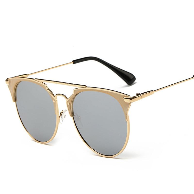 d4b4fcd649cf2 Novas Mulheres De Luxo Logotipo Da Marca Designer de Óculos De Sol Dos  Homens 2016 óculos Polarizados Do Vintage Espelho Plano Óculos de Sol Gafas  Oculos de ...