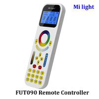 BSOD Mi Light LED Smart Remote Controller FUT 090 LCD Screem Touch Panel For Tracklight Distance