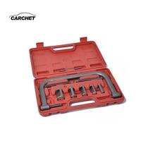 CARCHET Car Engine Cylinder Head Valve Spring Compressor Remove Install Tool Clamp Set ATVs Installer Removal Repair Tool Set
