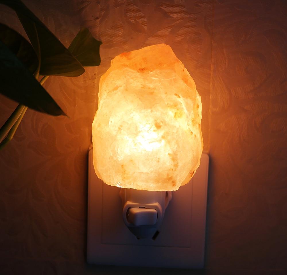Natural Crystal salt lamp Wall light lamp Lampda 11 Shapes ...
