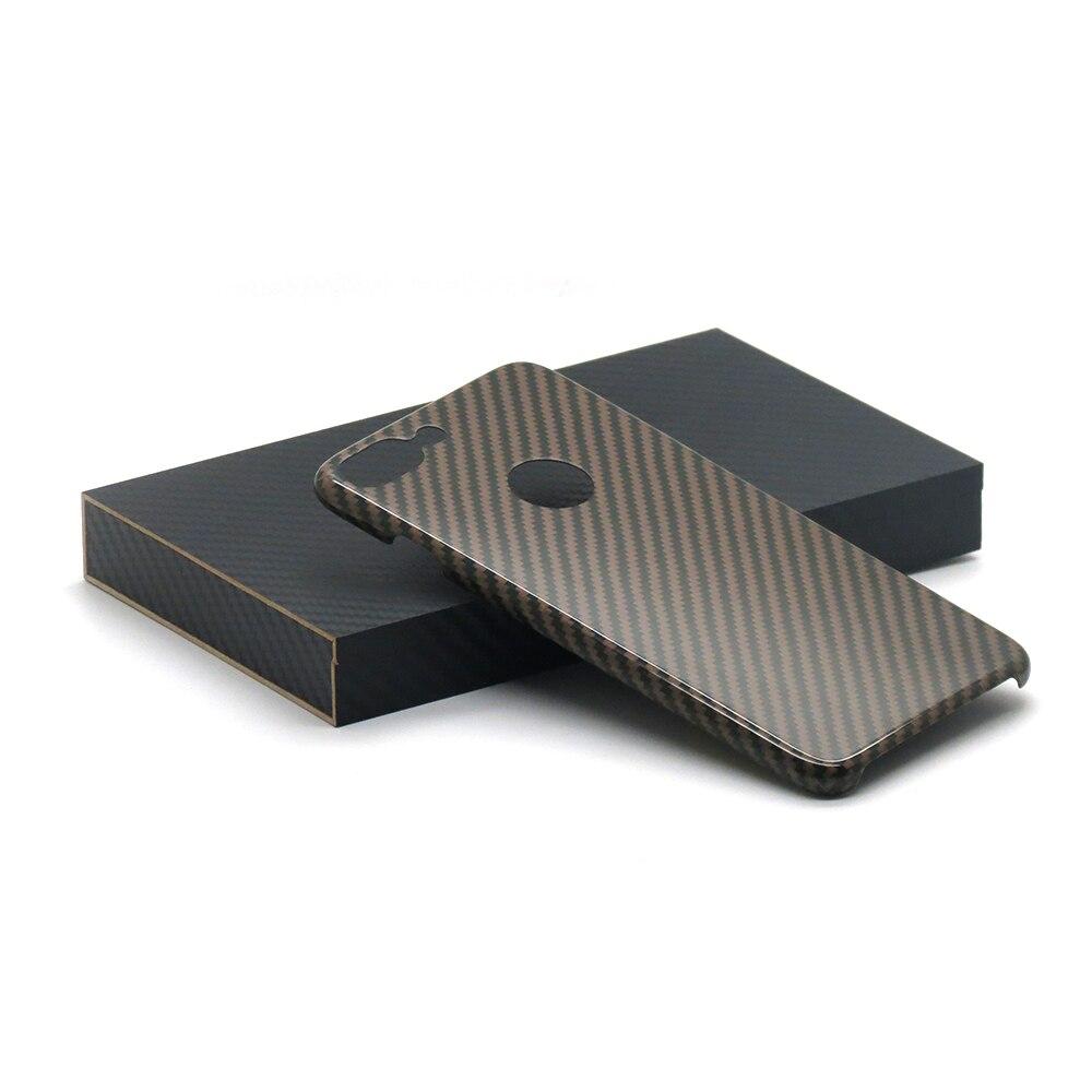 imágenes para 2017 Nuevo 100% Real de Fibra de Carbono Cubierta trasera Del Caso Para el iphone 7 Más 7 más Caja de la Fibra de Carbono 0.7mm Ultra Delgada