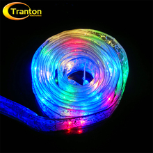 Satin Ribbon LED String 4 meter 40 LED Battery Box Power Supply Christmas Tree Decoration LED Lighting String.