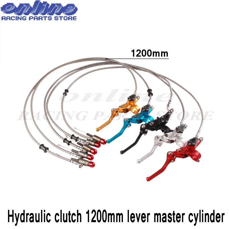 Lever-Master-Cylinder Dirt-Bike Motocross Hydraulic-Clutch Vertical-Engine-Off-Road 125-250cc title=