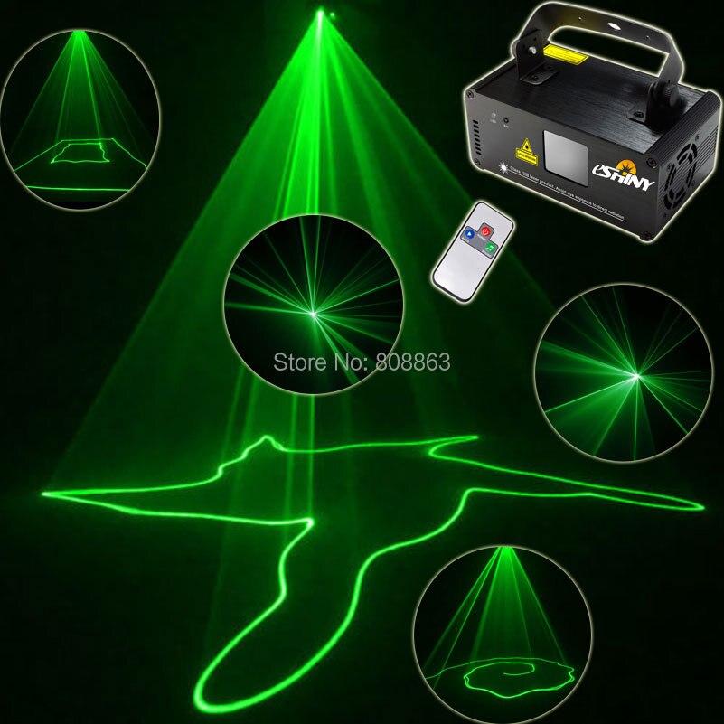ESHINY Mini Laser vert 50 ligne Scanner faisceau à distance DMX DJ barre de danse café magasin de noël fête Disco éclairage lumière spectacle B110