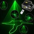 New Mini 50mw Green Line Scanner Beam Remote DMX DJ Dance Bar Coffer Shop Xmas Home Party Disco Lighting Laser Light Show D69