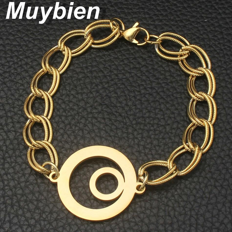 Nuevo patrón de la manera joyería de acero inoxidable collar de - Bisutería - foto 3