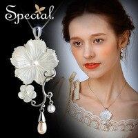 Special Ocean Sea Shell Pendant S925 Silver Necklace Free Shipping Women Necklace XL141184