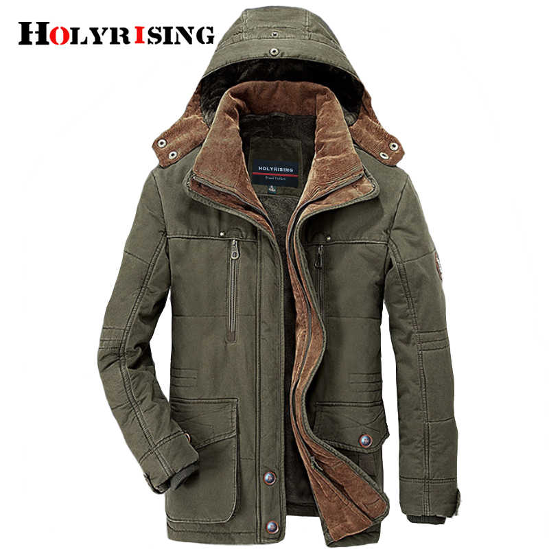 Plus size 5XL 6XL outwear winter coat men fleece warm cotton parka coat men jacket Thick Warm Jacket Parkas Men padded 18466-5