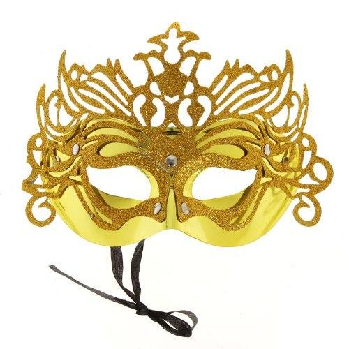 2d231b190959c ̪ )Atacado 5   Máscara de Olho Glitter Festas de Carnaval .