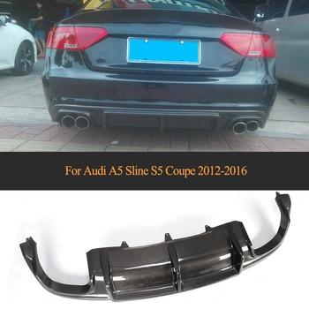 Xe Phía Sau Ốp Lưng Máy Khuếch Tán Tinh Dầu Môi ĐẦM XÒE DỰ Audi A5 Sline S5 Coupe 2012-2016 Chuyển Đổi Không A5 Carbon Tiêu Chuẩn sợi