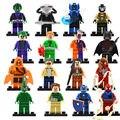 Sola venta Nuevo Marvel Super Heroes Avengers X Hombres Minifigs kraven Bane Batman Joker Niños Juguete Bloque de Construcción